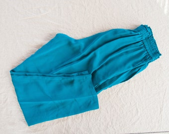 Vintage Silk Trousers