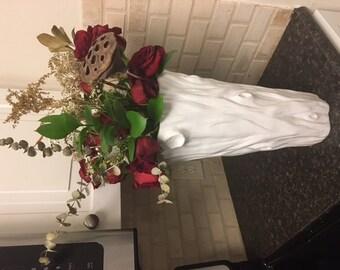 Antique Porcelain Tree Vase
