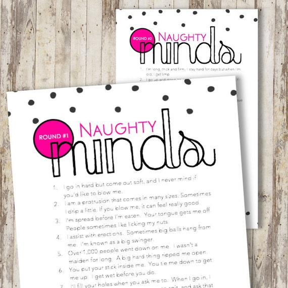 Engagement Party Games: PRINTABLE Bridal Engagement Bachelorette Party Game