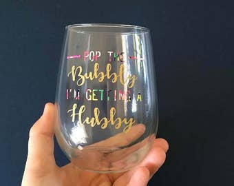 Pop the Bubbly I'm getting a Hubby