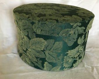 Vintage Small Hat Box