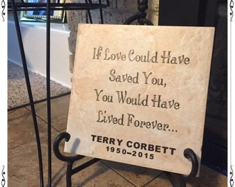Customized Ceramic Tile Memorial