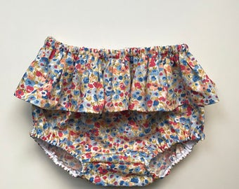 Baby ruffle bloomers / Girls ruffle bloomers