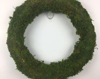 Moss Wreath - Year Round Wreath - Front Door Wreath