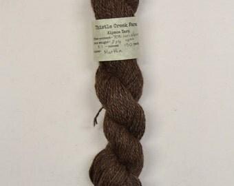 Martha 2-ply sport weight Alpaca Blend yarn