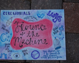 Florence and the Machine Themed Print