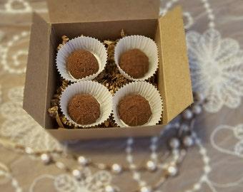 Chocolate Indulgence Bath Truffles/Mini Bath Fizzies/Tub Truffles