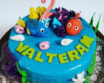 Nemo cake topper | Etsy
