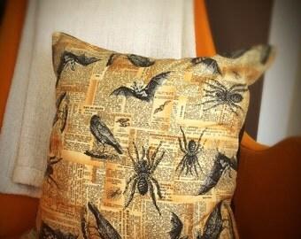 Creepy Critters Cushion Cover