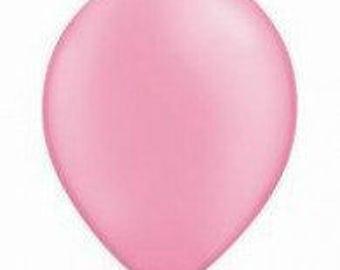 28cm Neon Pink Latex balloon