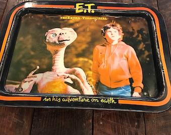 Tray Vintage ET TV Tray Vintage Movie ET Extraterrestrial