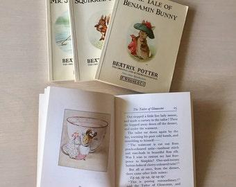 SALE- Vintage Beatrix Potter Book Set -1980's