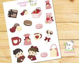 Love U Deco / Decoration Sheet Planner Stickers