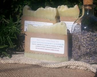 Lavender Rosemary & Geranium Bath Soap