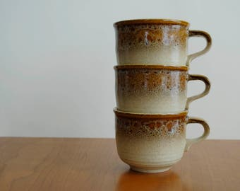 Mikasa Nature's Song teacups or coffee mugs-Stoneware-Japan