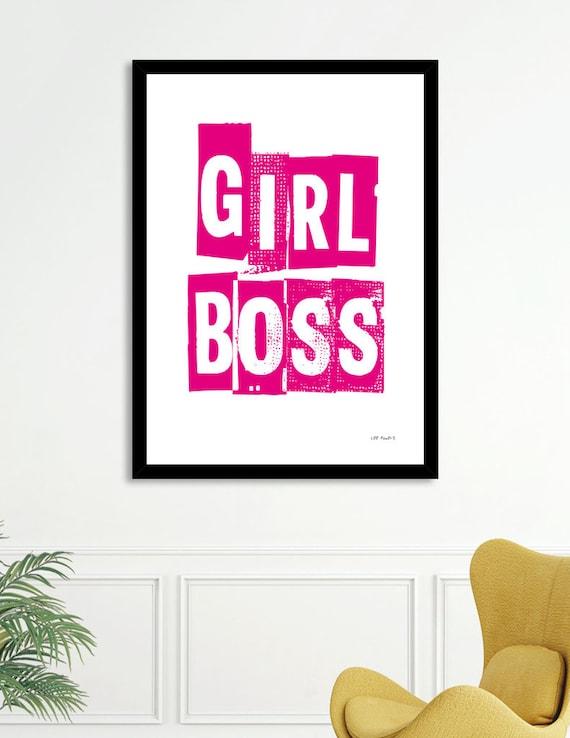 Girl Boss | Digital Download | Fine Art Print