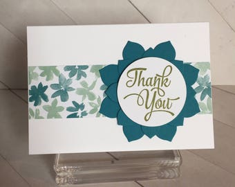 Thank You/Small Thanks Handmade Card