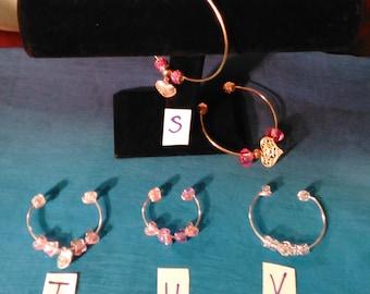 Unique charm/ pendant bracelets