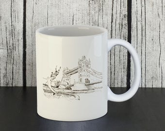 London Tower Bridge Mug