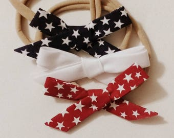 Fourth Of July Bow (3pk)