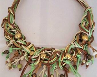 Spring necklace 155N