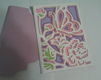 Handmade 3D Butterfly All Occasion Card
