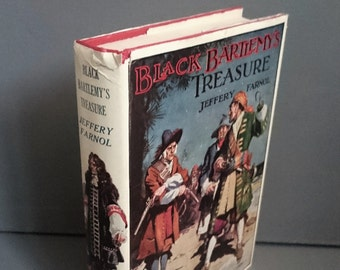 Black Bartlemy's Treasure by Jeffery Farnol 1952 First Impression