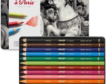 Pastel pencil case Conte to Paris 12