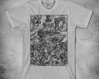 Albrecht Durer - Battle of Angels t-shirt, Durer t shirt, mens t shirt
