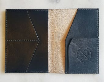 The Formalist - In Black Leather Passport Wallet