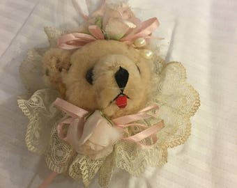 Bear Plush Christmas Ornament