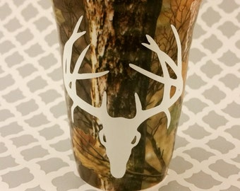 DECAL ONLY****  Deer Skull Decal