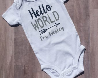 Hello World Bodysuit