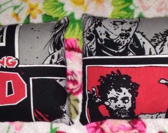 The walking dead pillows