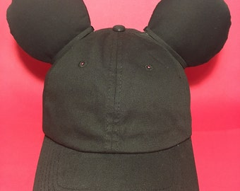Mickey Inspired Ear Hat