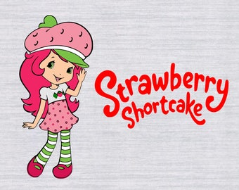 Strawberry Shortcake SVG files, Strawberry Shortcake SVG Bundle, svg files for silhouette, cricut, vector, cutting file, dxf, clipart