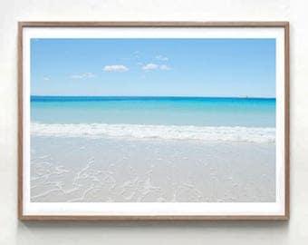Bay of Fires Australia Beach Photo, Ocean photography Beach Art, Beach Print, Coastal download, photo download large wall print art