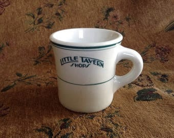 "Vintage Shenago mug ""Little Tavern Shop"""