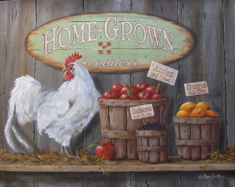 "Print ""Home Grown Goodness"""
