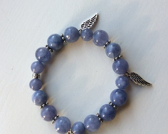 Angelite bracelet