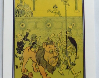 The Wonderful Wizard Of Oz Cowardly Lion Soldier Note Card From 1989 The Metropolitan Museum Of Art L Frank Baum