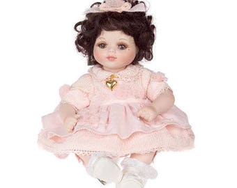 Marie Osmond Baby Marie Picture Day Tiny Tot Porcelain Doll