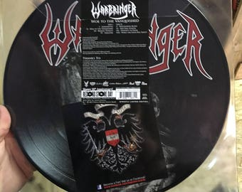 WARBRINGER Woe To Vanquished LP RSD 2017 new store stock