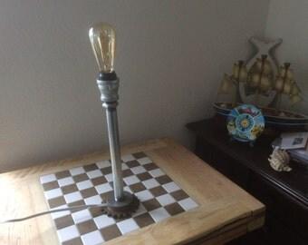 Gear Pipe Lamp
