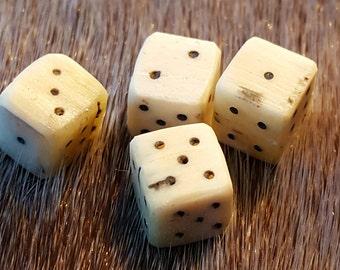viking reenactment bone dice