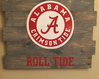 Alabama Roll Tide Sign