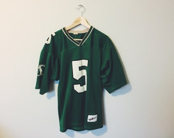 Vintage 'Saskatchewan Roughriders' Football Jersey