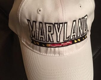 Maryland embroidered hat