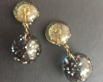 Vintage 1960s dangle earrings