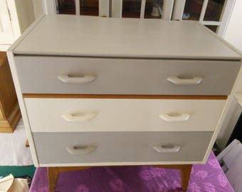 Painted G Plan 3 Drawer chest
